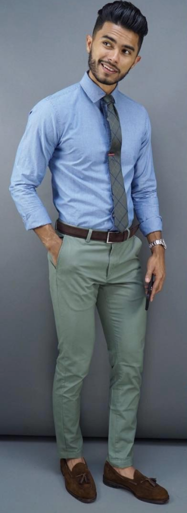 e12889f3ebbc Types Of Office Pant Styles All Men Should Own - LLEGANCE; Today's office  atmosphere isn